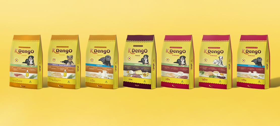 Novas embalagens KDengo - Case Design KDengo - Aldeia Conteúdo