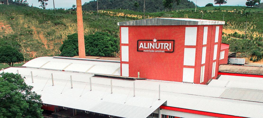 Case Alinutri Nutrição Animal - Fachada aplicada - Aldeia Marketing de Conteúdo