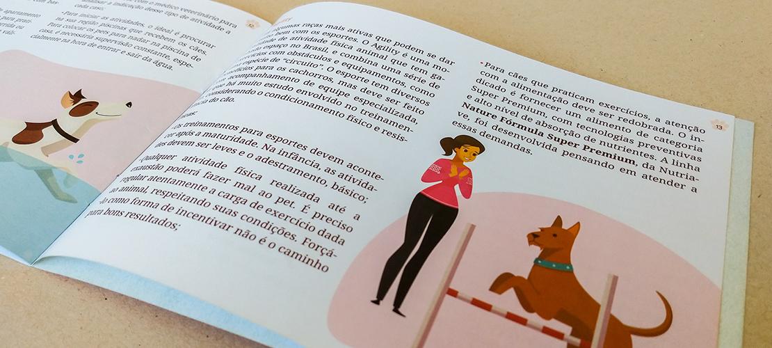 Case Design Manuais Alinutri Nutrição Saudável - Aldeia Conteúdo